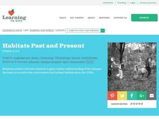 Habitats Past and Present Lesson Plan