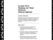Making Art That Matters Lesson Plan