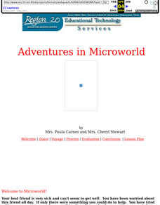 Adventures in Microworld Lesson Plan