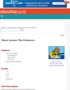 The Producers Lesson Plan