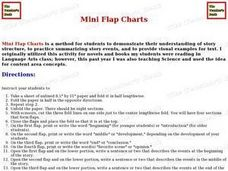 Mini Flap Chart Lesson Plan