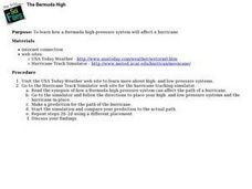 The Bermuda High: Hurricanes, Weather, Natural Disasters Lesson Plan