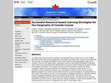 Successful Resource-based Learning Strategies for the Geography of Canada Course Lesson Plan
