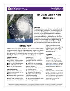 Hurricanes Lesson Plan