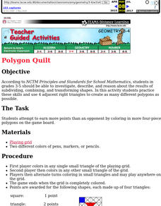 Polygon Quilt Lesson Plan