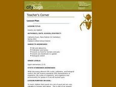 Insects Are Helpful! Lesson Plan