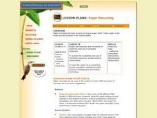 PAPER RECYCLING Lesson Plan
