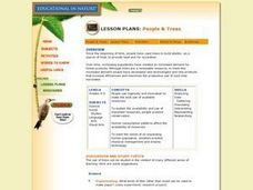 People & Trees Lesson Plan