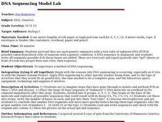 DNA Sequencing Model Lab Lesson Plan