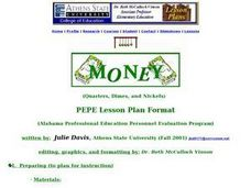 Quarters, Dimes, and Nickels Lesson Plan
