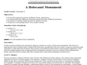 A Holocaust Monument Lesson Plan