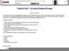 """Czech It Out"" - A Look at Eastern Europe Lesson Plan"