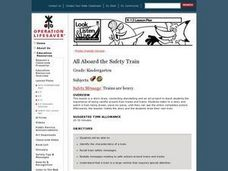 All Aboard the Safety Train Lesson Plan