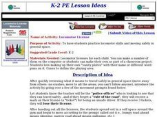 Locomotor License Lesson Plan