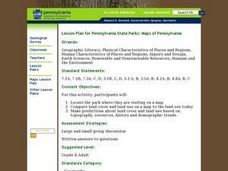 Lesson Plan for Pennsylvania State Parks: Maps of Pennsylvania Lesson Plan