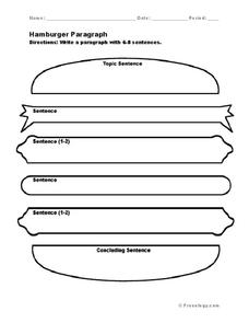 What the Teacher Wants!: Hamburger Writing