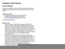 Friends of the Desert Lesson Plan