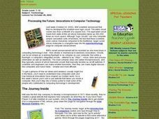 Processing the Future: Innovations in Computer Technology Lesson Plan