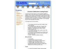 Literature Collaborative Learning Project Lesson Plan