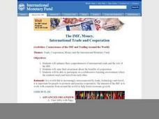 The IMF, Money, International Trade and Cooperation Lesson Plan