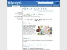 The IMF In Action: Why Do We Need the IMF? Lesson Plan