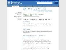 The IMF in Action: Who is the IMF? Lesson Plan