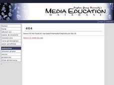 Gender and Media #2 Lesson Plan