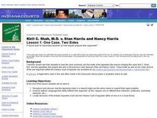 Kirit C. Shah, M.D. v. Stan Harris and Nancy Harris  Lesson 1: One Case, Two Sides Lesson Plan