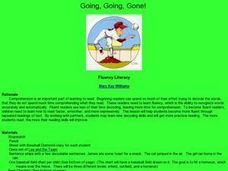 Going, Going, Gone! Lesson Plan