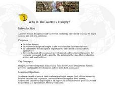 Who In the World Is Hungry? Lesson Plan