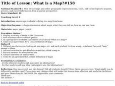 What is a Map? Lesson Plan