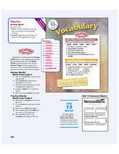 Strategy Words Lesson Plan