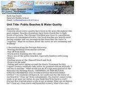 Public Beaches and Water Quality Lesson Plan