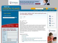 Addition Kids Lesson Plan