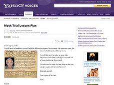 Mock Trial Lesson Plan