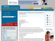 Tracking Time Lesson Plan