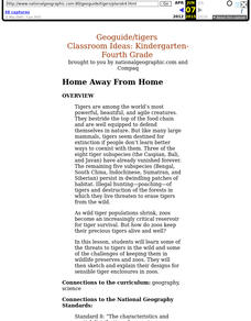 Home Away From Home Lesson Plan