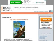 The Adventures of Huckleberry Finn Lesson Plan
