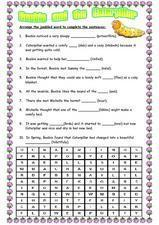 Beeble And the Caterpillar Worksheet