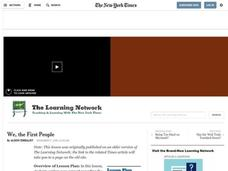 We, the First People Lesson Plan