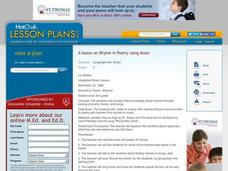 Rhymes Lesson Plan