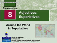 Adjectives: Superlatives Presentation