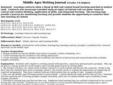 Middle Ages Writing Journal Lesson Plan