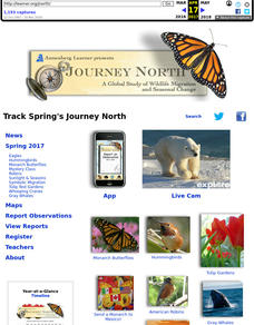 Journey North 1999 Lesson Plan