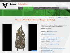 Create a Thai Style Shadow Puppet Lesson Plan