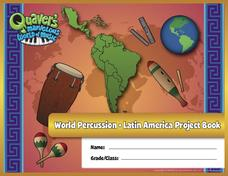 World Percussion — Latin America Project Book Activities & Project