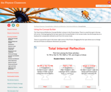 Total Internal Reflection Interactive