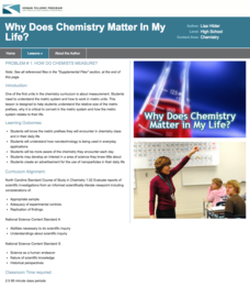 How Do Chemists Measure? Lesson Plan