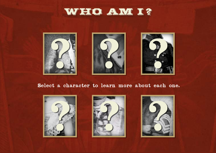 Who Am I?: A History Mystery Interactive