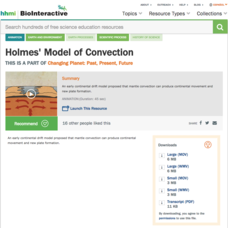 Holmes' Model of Convection Video